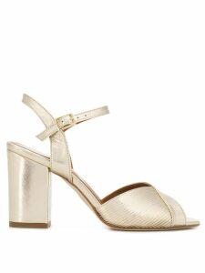 Paris Texas classic peep-toe sandals - GOLD