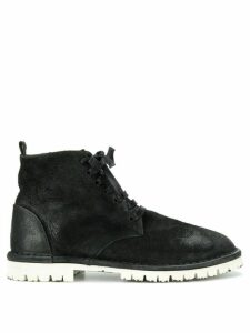 Marsèll contrast sole boots - Black
