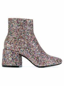 Mm6 Maison Margiela glitter booties - Multicolour
