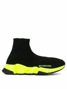 Balenciaga Speed light knit sock sneakers - Black