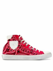 Saint Laurent Bedford hi-top sneakers - Red