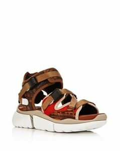 Chloe Women's Sonnie Mixed Media Sneaker Sandals