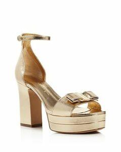 Salvatore Ferragamo Women's Eclipse Block-Heel Platform Sandals