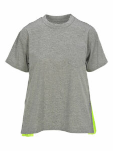 Sacai Sacai Pleated T-shirt