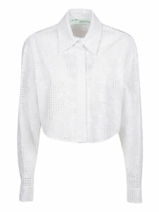 Off-White Perforated Shirt