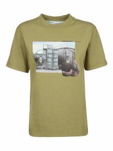 Off-White Print T-shirt