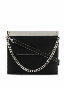 Alexander McQueen Drop chain bag - Black