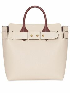 Burberry The Medium Tri-tone Leather Belt Bag - Neutrals