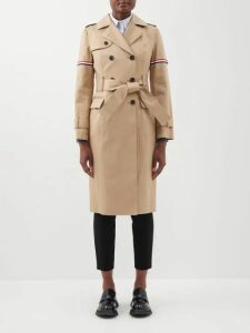 Toga - High Neck Technical Cape Jacket - Womens - Green