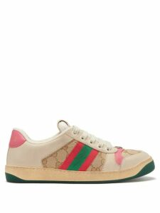Toga - Floral-print Crossover High-neck Top - Womens - Black Print