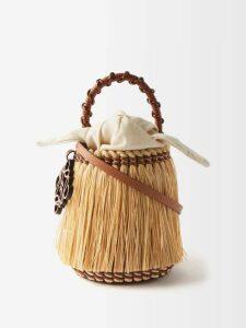La Fetiche - Mimi Polka Dot Cashmere Sweater - Womens - Camel