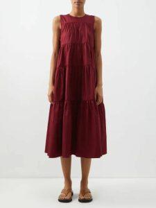 Dodo Bar Or - Brigitte Floral Print Maxi Dress - Womens - Black Multi