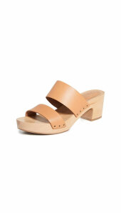Madewell The Clara Clog Sandals