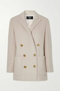 The Row - Tango Cutout Leather Sandals - Beige