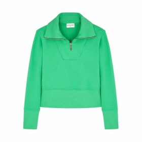 Cotton Citizen Milan Green Cotton Sweatshirt