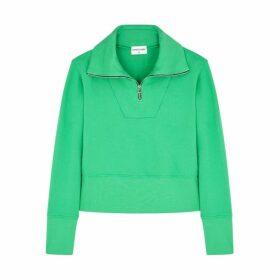 Cotton Citizen Milan Green Cotton Sweatshirt