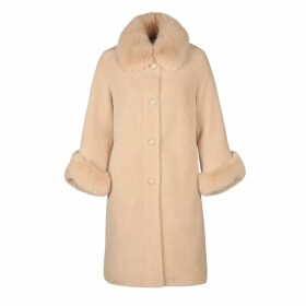 blonde gone rogue - Diagonal Sustainable Top Green
