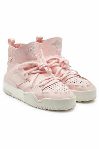 Adidas Originals by Alexander Wang BBall Leather High-Top Sneakers