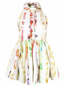 Rosie Assoulin watercolour print blouse - White