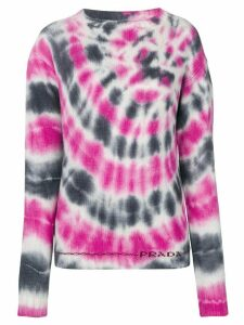 Prada tie-dye knit sweater - Pink