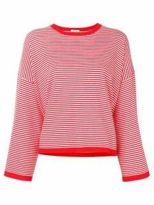 P.A.R.O.S.H. striped top - Red