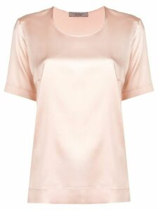 D.Exterior loose fit blouse - Pink