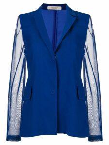 D.Exterior lightweight fitted jacket - Blue