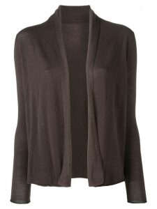 Sottomettimi open front cardigan - Brown