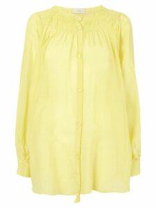 Maison Flaneur button-up shirt - Yellow
