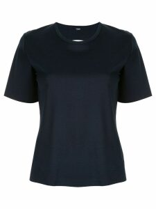 Dion Lee layered back T-shirt - Blue
