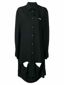 Maison Margiela trapeze-style shirt - Black