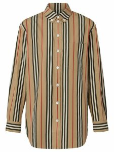 Burberry Icon stripe shirt - Yellow