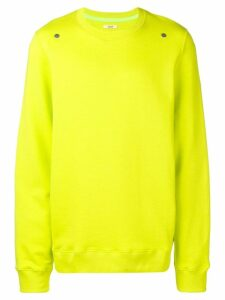 Zilver Round Neck Sweatshirt in Organic Cotton - Green
