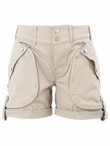 Faith Connexion high waist shorts - Neutrals