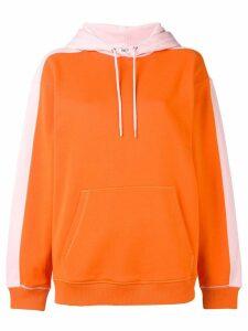 Kenzo two-tone hoodie - Orange