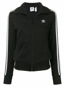 Adidas zipped signature sweatshirt - Black