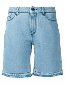Karl Lagerfeld knee length denim shorts - Blue