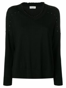 Sonia Rykiel embellished jumper - Black