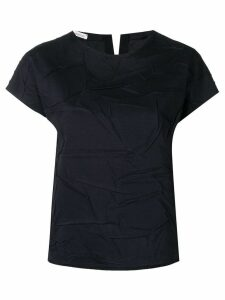 Stefano Mortari wrinkled effect top - Blue