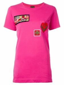 Mr & Mrs Italy multipatch T-shirt - PINK