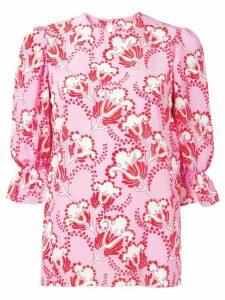 Valentino graphic Elder print blouse - Pink