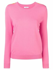 P.A.R.O.S.H. side stripe fine sweater - Pink