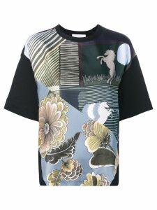 Chloé printed T-shirt - Black