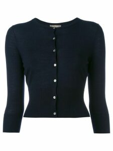 N.Peal cropped cardigan - Blue