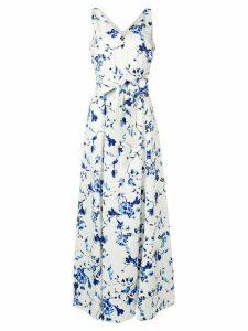 Lauren Ralph Lauren Tivianna floral print gown - White