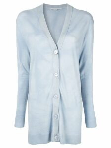 Stella McCartney single breasted cardigan - Blue
