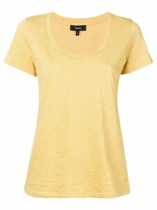 Theory scoopneck t-shirt - Yellow