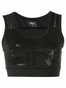 Fila zip detail top - Black
