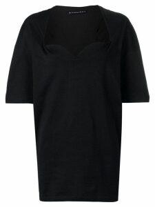 Y/Project detachable bra top - Black