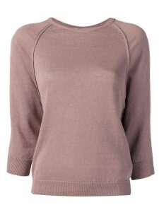 Peserico 3/4 sleeve jumper - Neutrals